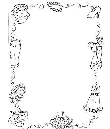 Carteles De Material Infantil En Clase Para Colorear