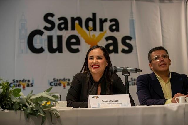 SANDRA CUEVAS GARANTIZA QUE LA CUAUHTÉMOC SERÁ LA PRIMERA ALCALDIA REFUGIO PARA MUJERES VIOLENTADAS.