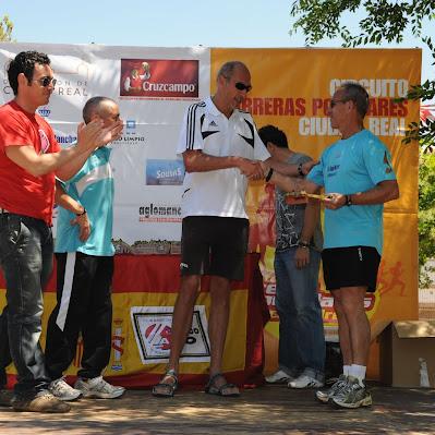 Carrera de Montaña Puertollano 2010 - Trofeos