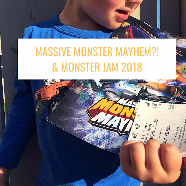 monster jam, massive monster mayhem, family channel,