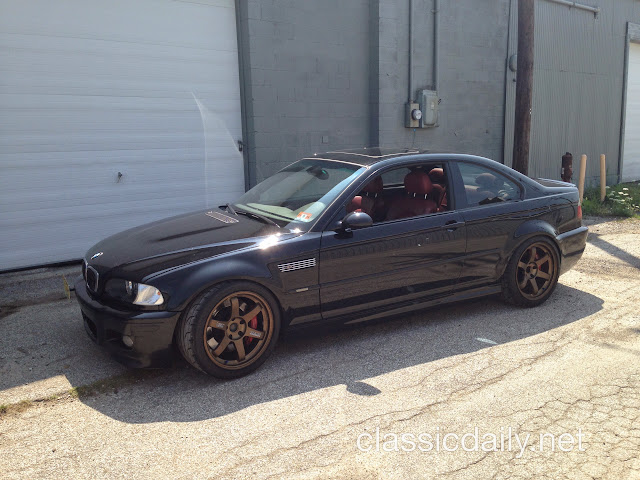 Classic Daily E46 M3 cammed LS3 Swap
