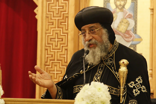 His Holiness Pope Tawadros II visit to St. Mark LA - _MG_0618.JPG