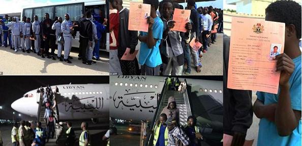 Libya To Step Up Migrant Repatriation Flights, As 140 Nigerians Return Home (Photos)