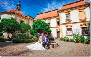 Фотографии со свадьбы в Емниште и Праге - фотограф Владислав Гаус