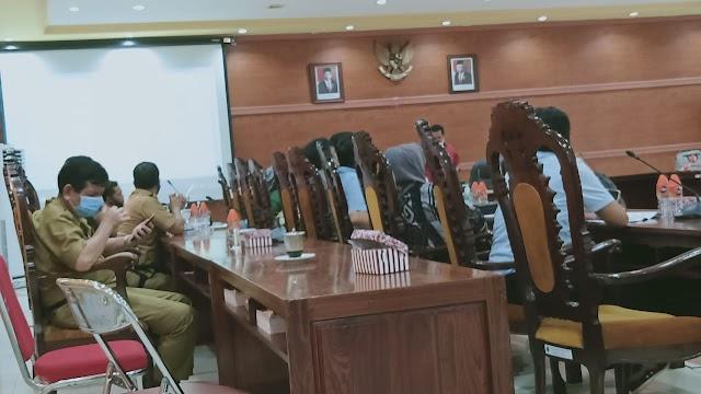 Revisi Jadwal Kegiatan, DPRD Rapat Banmus bersama Eksekutif