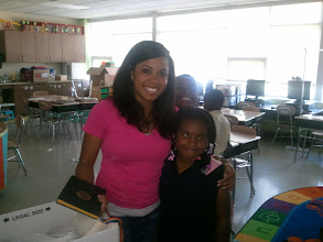 Photo: It's the last day of school. Kaleya's teacher, Ms. King, has been awesome! See you next year Robert Churchwell for the 2nd grade!