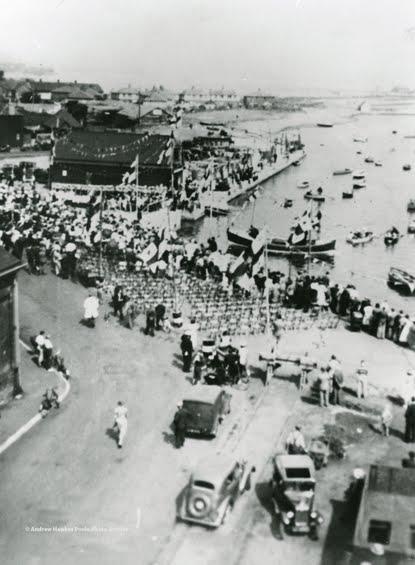 Naming ceremony of Thomas Kirk Wright, 17 June 1939