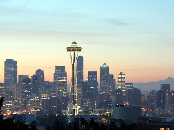 Halvat lennot Seattleen alk. 415€