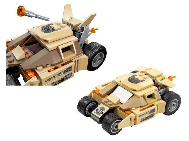 76001 レゴ バットマン vs ベイン タンブラー・チェイス