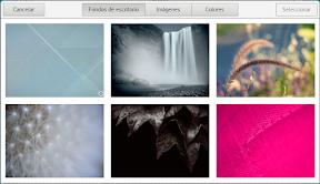 Como configurar GNOME con detalle. Configuración personal. Personalizar el fondo de pantalla.