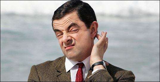 Mr Bean - Confused