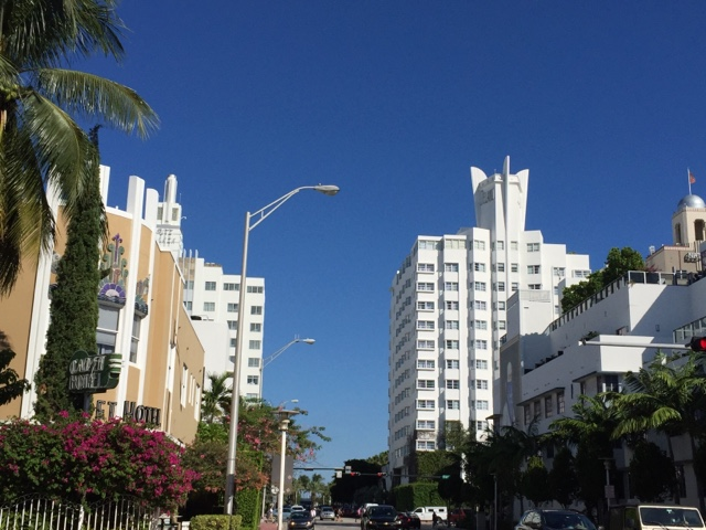 South Beach, Miami is an Art Deco heaven