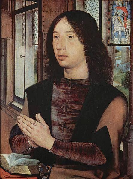 Hans Memling - Porträt des Maarten van Nieuvenhove