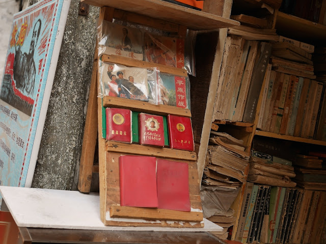 Little Red Books at The Nostalgia Book Room