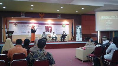 "UBH Gelar Peluncuran Dan Bedah Buku "" Demang Loetan, Sang Politisi Volksrsraad Dari Lereng Marapi """