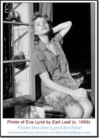 Eva Lynd photo by Earl Leaf c1959 WM4