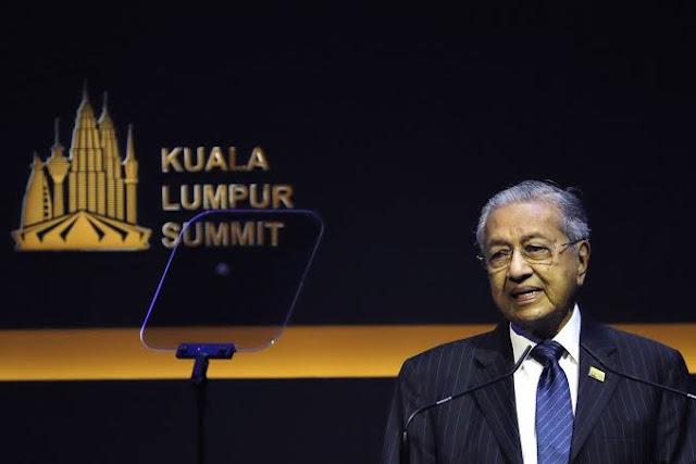 Di Hadapan Pemimpin Negara Muslim, Mahathir Luapkan Kemarahan Pada Islamophobia