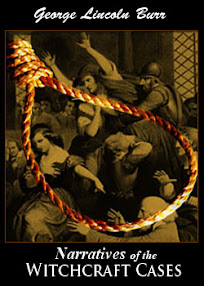 Cover of George Lincoln Burr's Book Narratives of the Witchcraft Cases