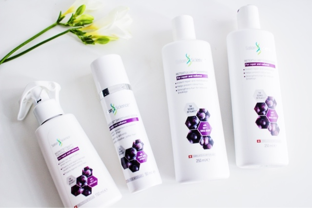 Salon Science Hair Care Swiss Grape Range Review