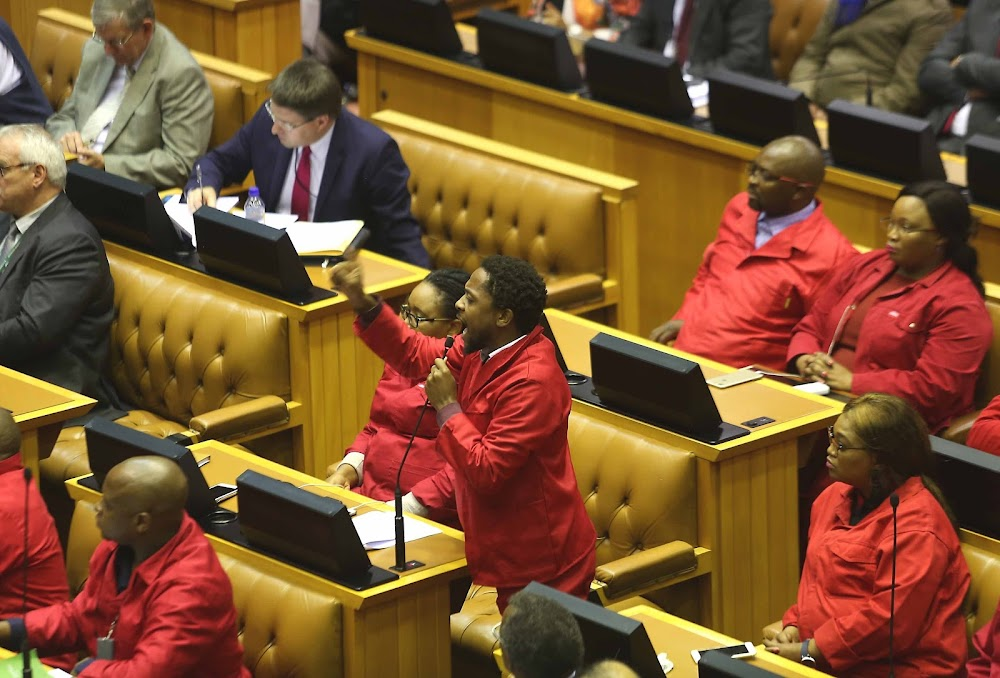 Mbuyiseni Ndlozi rejects nomination of Gigaba's ex-adviser as deputy public protector - SowetanLIVE