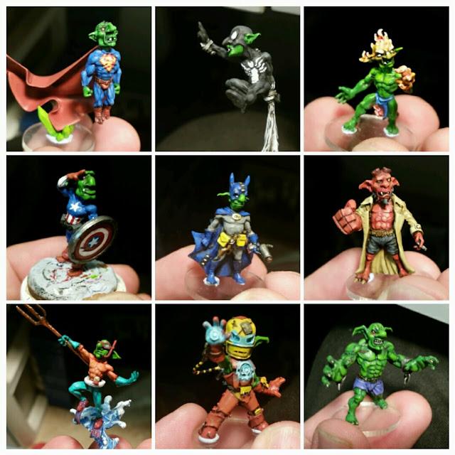Goblins pintados por Xela
