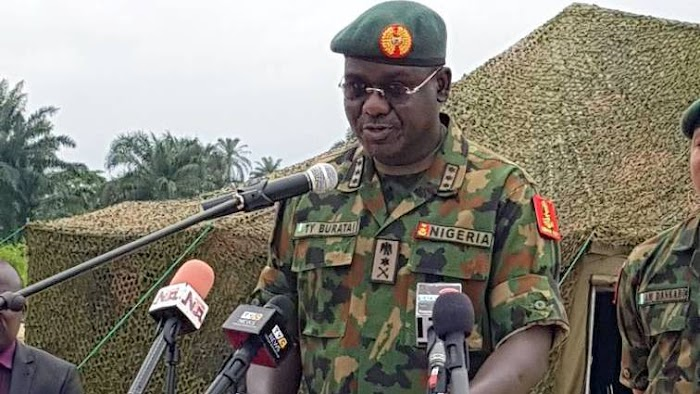 Insecurity: Army Chief, Buratai reveals those behind this act in Nigeria