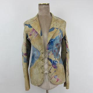 Roberto Cavalli Painted Blazer