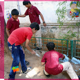 Swachh Bharat Vidyalaya campaign at Kukatpally Branch