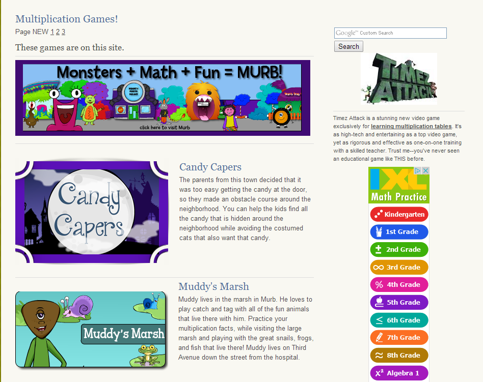 Learning Never Stops 56 Great Math Websites For Students – Cute766
