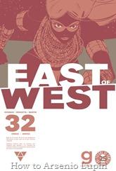 Actualización 20/04/2017: Se agrega el número #32 de East of West, por TarkuX y GinFizz de la pagina de Facebook G-Comis.