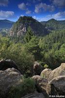 Sommerimpression in der Oybiner Felsenwelt (http://www.Naturfoto-Steudner.de)