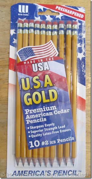 USA Gold pencils