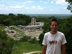 Ich vor den Ruienen von Palenque