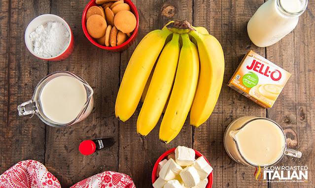banana pudding cake ingredients
