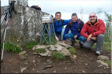 Mandoia mendiaren gailurra 638 m. - 2016ko maiatzaren 22an