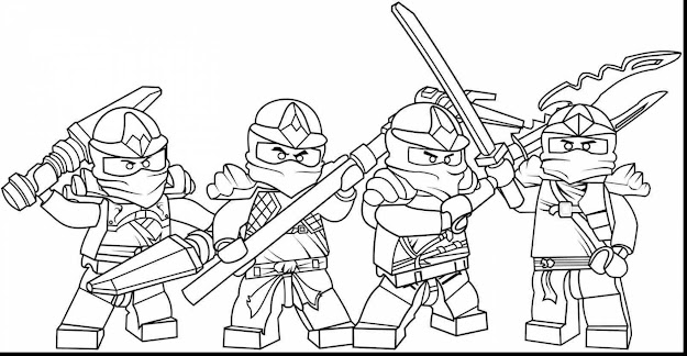 Unbelievable Ninjago Coloring Pages To Print With Ninjago Coloring Pages  And Ninjago Coloring Pages Nya