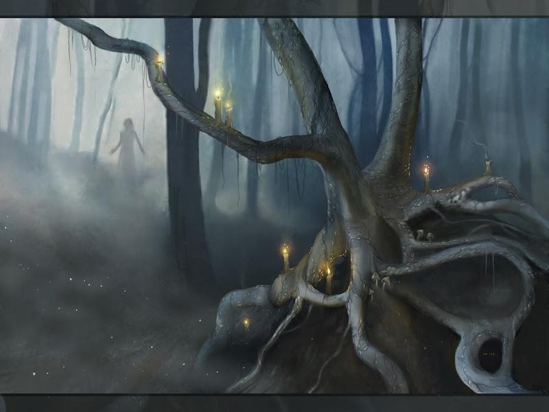 Horror Landscape Of Dream 10, Magical Landscapes 6