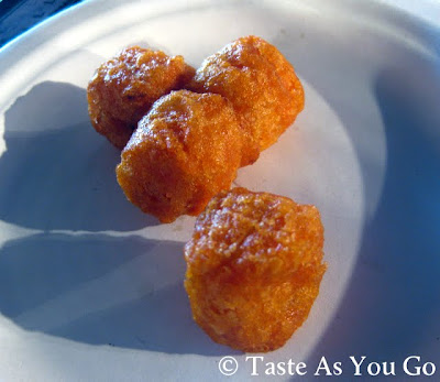 Sweet Potato Puffs from Alexia - Photo by Taste As You Go