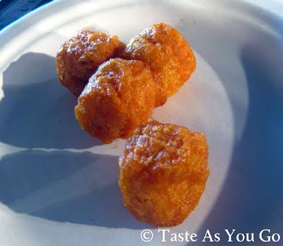 Sweet Potato Puffs from Alexia - Photo by Taste As You Go
