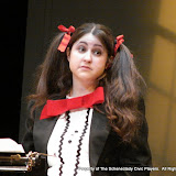 """Jennifer Van Iderstyne in """"Words, Words, Words"""" as part of THE IVES HAVE IT - January/February 2012.  Property of The Schenectady Civic Players Theater Archive."""