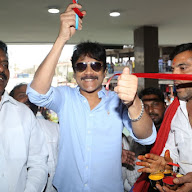 Nagarjuna launches Asian Swapna theatre at Katedan