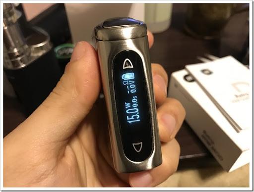 IMG 0959 thumb%25255B2%25255D - 【MOD】SMACO AURO Retro 60W TC Box Modレビュー!小さな姿のバッテリーMODの巻