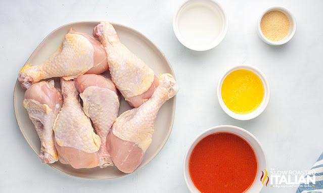 Chicken legs air fryer ingredients