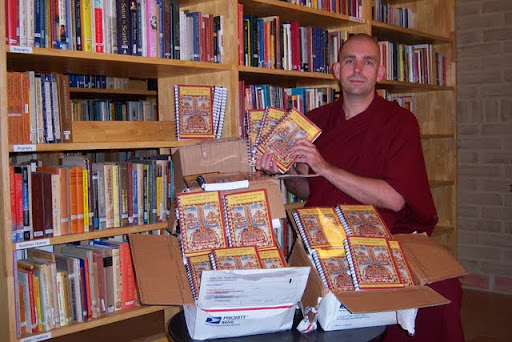 New Lama Chopa Jorcho books at Nalanda, July 2011, France