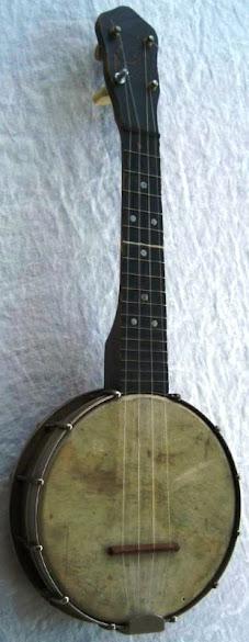 Banjo ette Banjolele Ukulele  gumby head