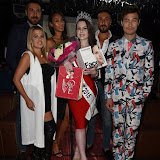 OIC - ENTSIMAGES.COM - The Winner Amelia Rushmore-Perrin and The Judges at the  Miss GB South East pageant at DSTRKT London 18th July 2015 Photo Mobis Photos/OIC 0203 174 1069