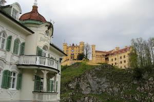 Villa Jagerhaus and Hohenschwangau Castle