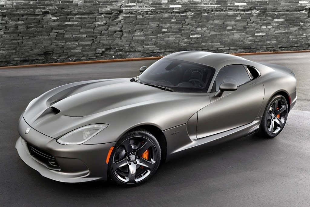 2014 SRT Viper GTS Anodized Carbon Special Edition 1