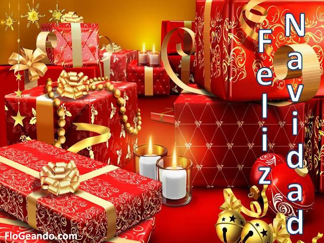 Feliz navidad postal