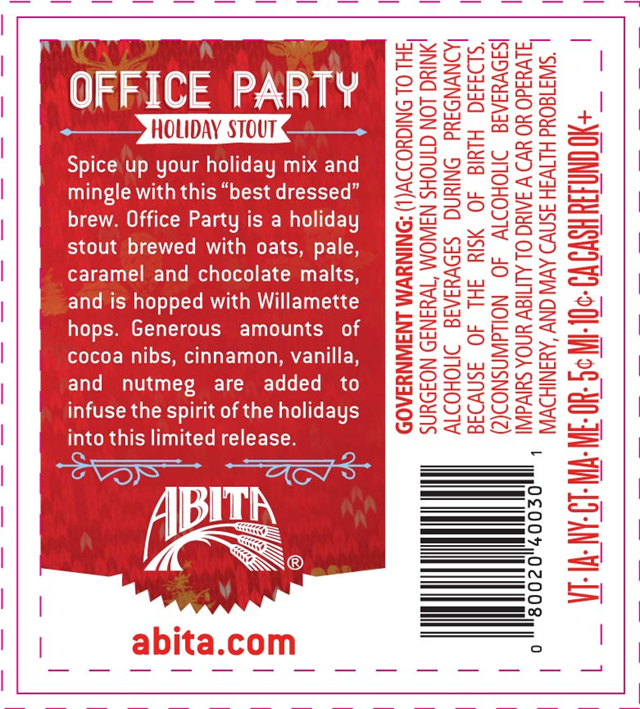 Shiner Office Party Holiday Stout Coming To Limited Series